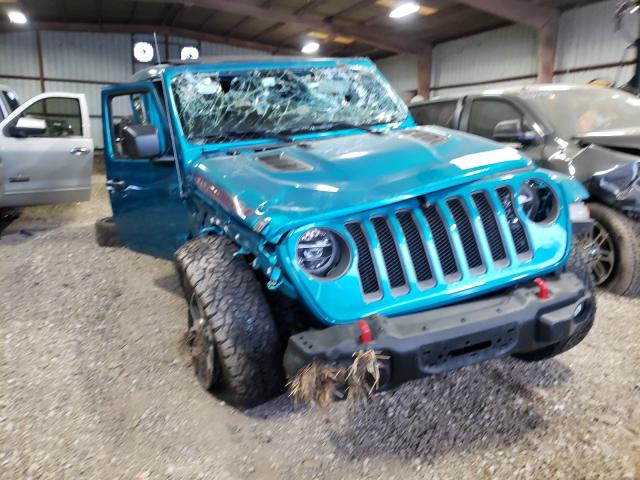 Salvage cars for sale from Copart Houston, TX: 2020 Jeep Wrangler U