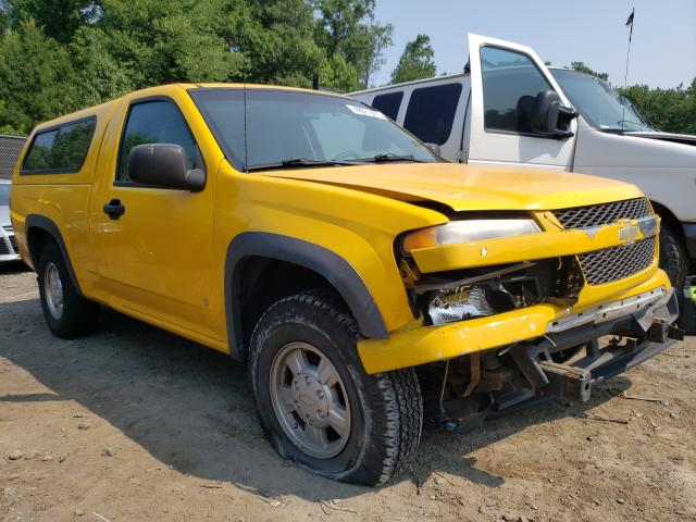 Salvage cars for sale from Copart Waldorf, MD: 2007 Chevrolet Colorado
