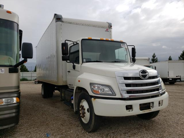 Salvage cars for sale from Copart Bismarck, ND: 2012 Hino 258 268