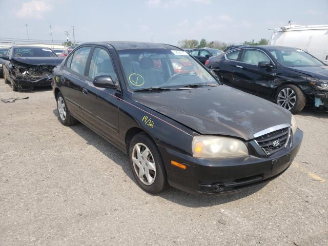 Hyundai Elantra salvage cars for sale: 2004 Hyundai Elantra