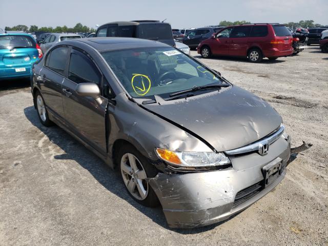 Salvage cars for sale from Copart Fredericksburg, VA: 2008 Honda Civic EX