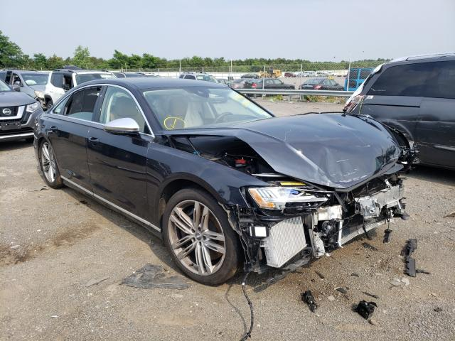Audi S8 salvage cars for sale: 2020 Audi S8
