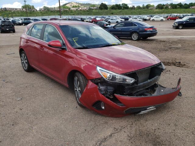 Salvage cars for sale from Copart Colorado Springs, CO: 2019 Hyundai Elantra GT