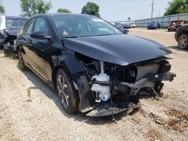 Salvage cars for sale from Copart Pekin, IL: 2020 KIA Forte FE