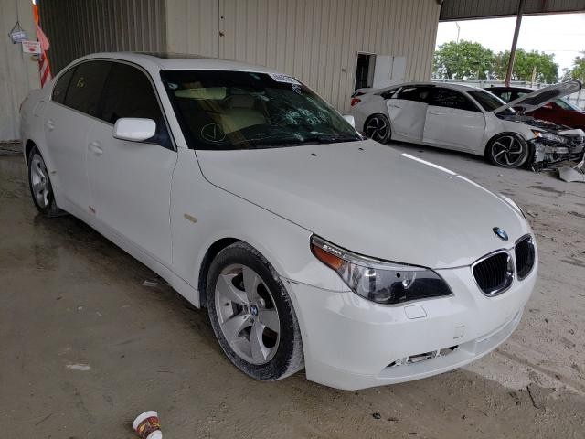 Salvage cars for sale from Copart Homestead, FL: 2004 BMW 530 I