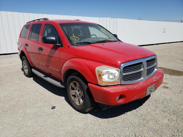 Vehiculos salvage en venta de Copart Adelanto, CA: 2005 Dodge Durango SL