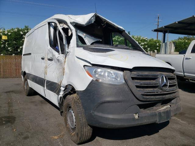 Salvage cars for sale from Copart San Martin, CA: 2019 Mercedes-Benz Sprinter 1