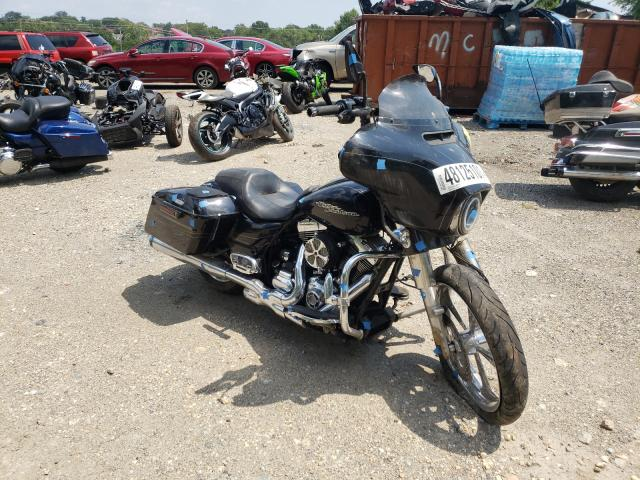 Salvage motorcycles for sale at Baltimore, MD auction: 2014 Harley-Davidson Flhxs Street