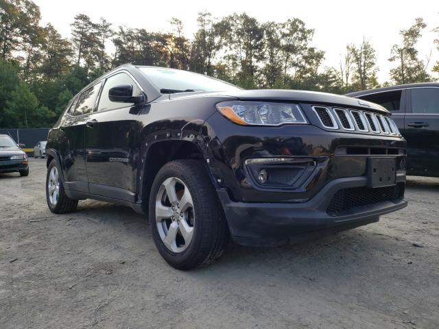 Salvage cars for sale from Copart Waldorf, MD: 2017 Jeep Compass LA