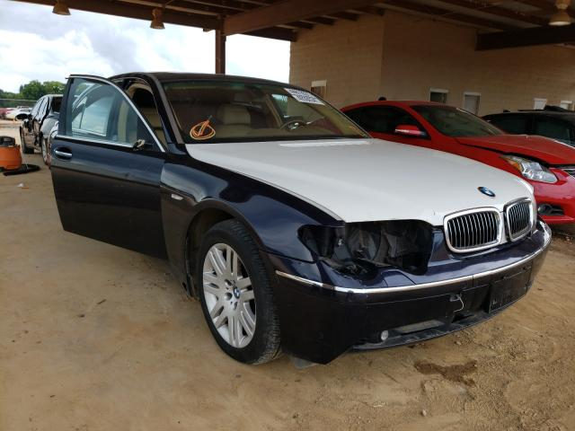 Salvage cars for sale from Copart Tanner, AL: 2005 BMW 745 LI