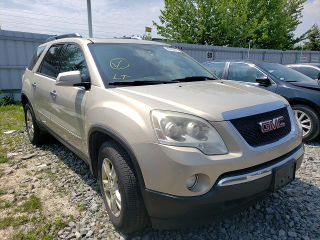 Salvage cars for sale from Copart Bowmanville, ON: 2008 GMC Acadia SLT