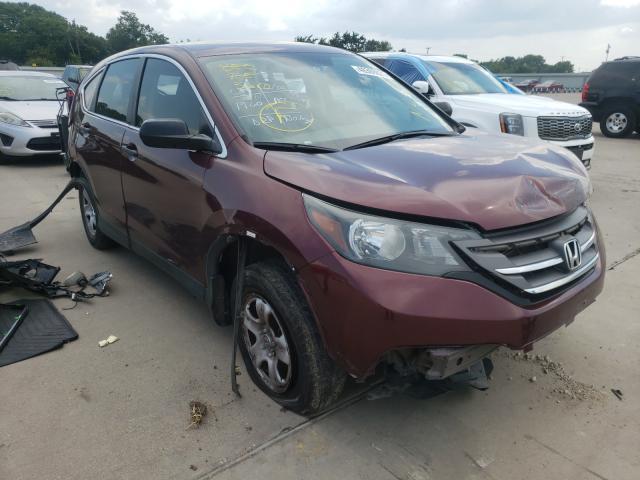Vehiculos salvage en venta de Copart Wilmer, TX: 2012 Honda CR-V LX