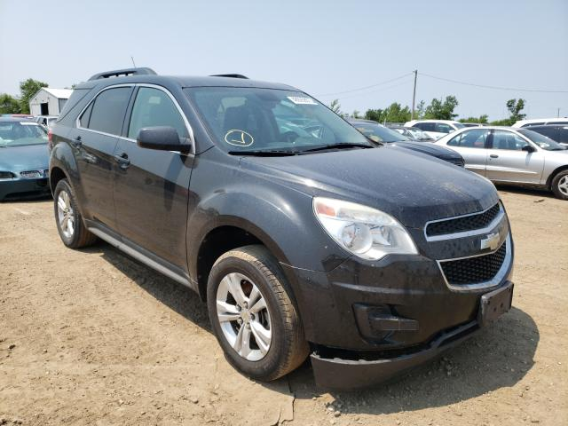 Salvage cars for sale from Copart Pekin, IL: 2012 Chevrolet Equinox LT