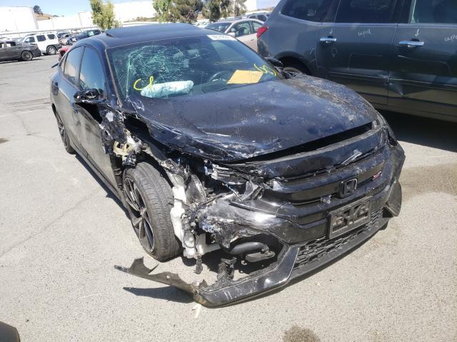 Vehiculos salvage en venta de Copart Martinez, CA: 2018 Honda Civic SI
