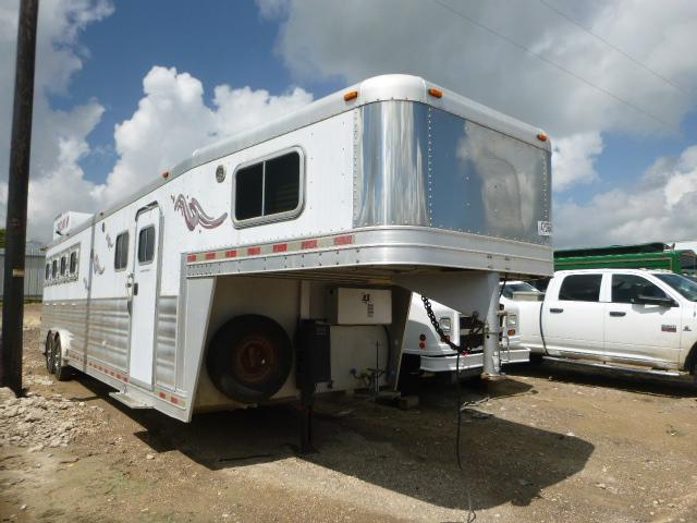 Salvage cars for sale from Copart Temple, TX: 2008 Platinum Trailer