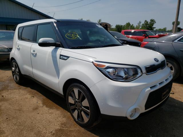 Salvage cars for sale from Copart Pekin, IL: 2015 KIA Soul