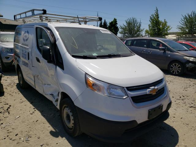 Salvage cars for sale from Copart Eugene, OR: 2015 Chevrolet City Expre