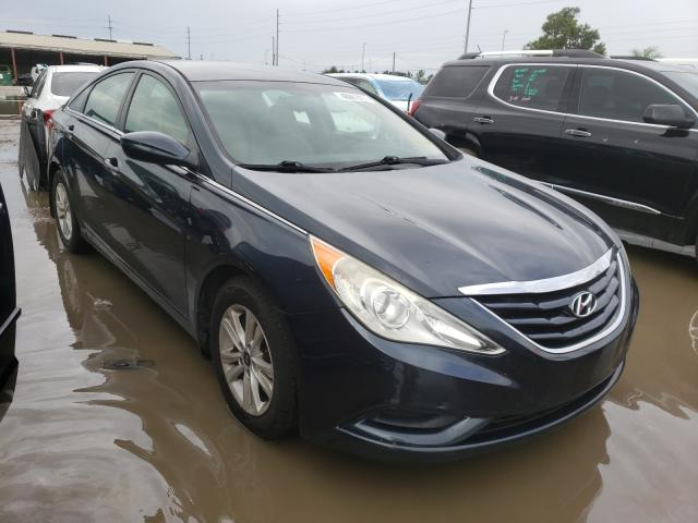 Salvage cars for sale from Copart Riverview, FL: 2012 Hyundai Sonata GLS