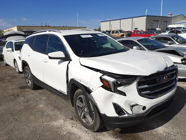 Salvage cars for sale from Copart Las Vegas, NV: 2020 GMC Terrain SL