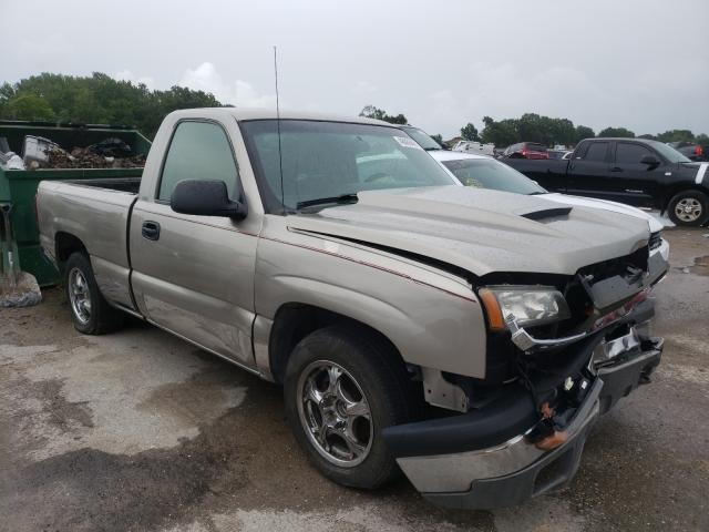 Salvage cars for sale from Copart Riverview, FL: 2003 Chevrolet Silverado