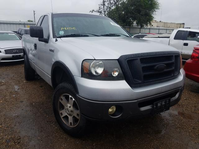 Salvage cars for sale from Copart Mercedes, TX: 2007 Ford F150