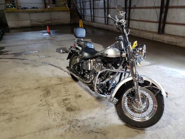 Salvage motorcycles for sale at Candia, NH auction: 2003 Harley-Davidson Flstci ANN