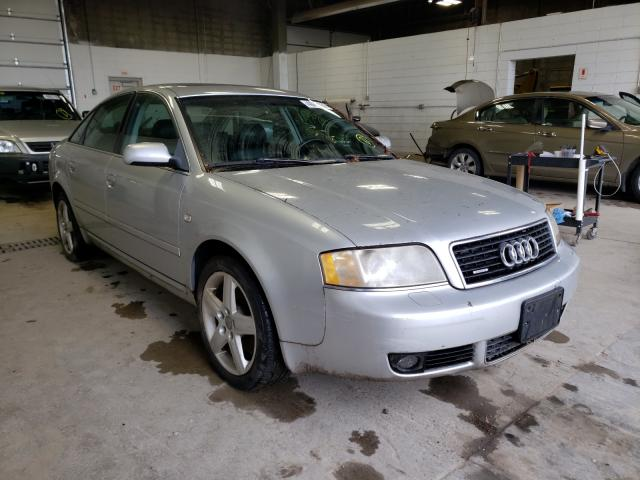 Salvage cars for sale from Copart Blaine, MN: 2004 Audi A6 3.0 Quattro