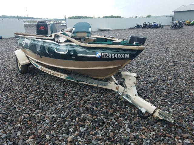 Salvage 1998 LUND BOAT - Small image. Lot 48618591