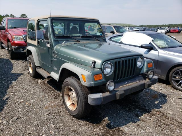 Jeep Wrangler salvage cars for sale: 2000 Jeep Wrangler