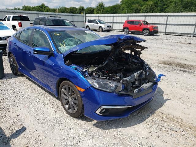 Salvage cars for sale at Prairie Grove, AR auction: 2021 Honda Civic EX
