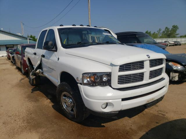 Salvage cars for sale from Copart Pekin, IL: 2003 Dodge RAM 2500 S