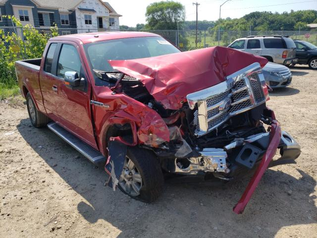 Salvage cars for sale from Copart Madison, WI: 2010 Ford F150 Super
