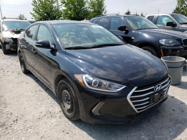 Salvage cars for sale from Copart Bowmanville, ON: 2017 Hyundai Elantra SE