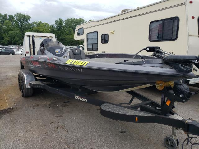 Salvage cars for sale from Copart Hueytown, AL: 2017 Triton Boat