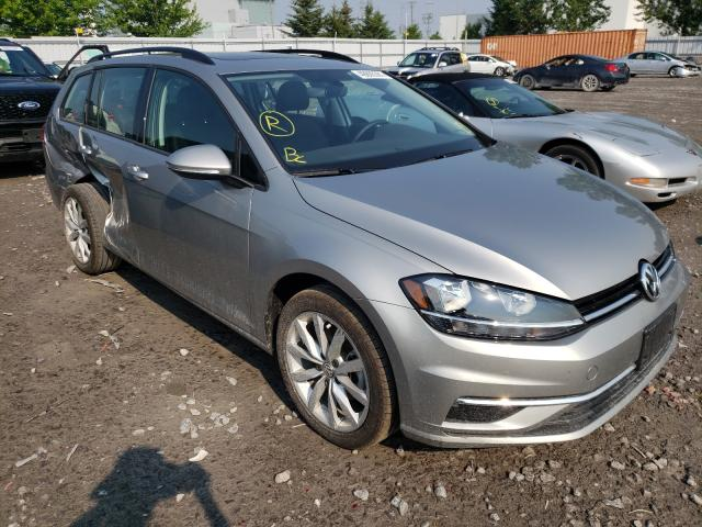 Salvage cars for sale from Copart Bowmanville, ON: 2019 Volkswagen Golf Sport