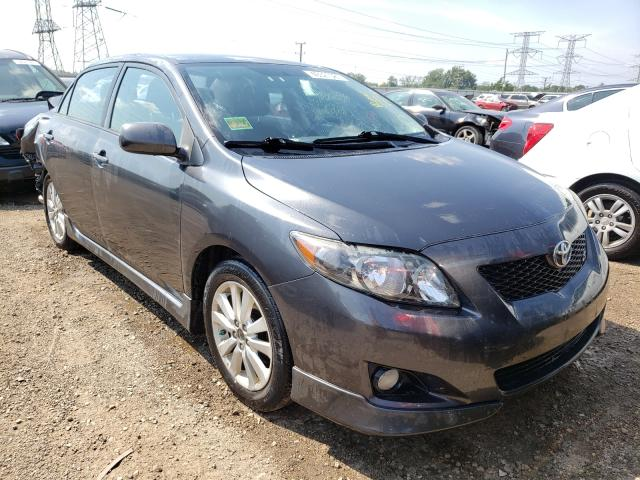 Salvage cars for sale at Elgin, IL auction: 2009 Toyota Corolla BA