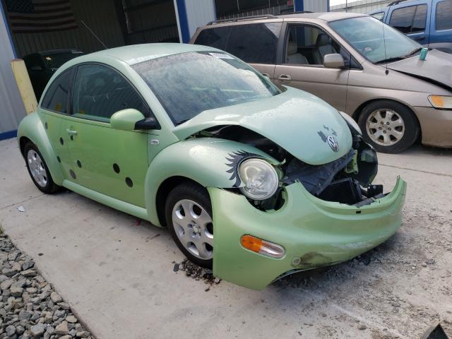 Volkswagen salvage cars for sale: 2001 Volkswagen New Beetle
