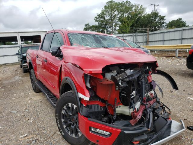 Salvage cars for sale from Copart Florence, MS: 2020 Nissan Titan SV