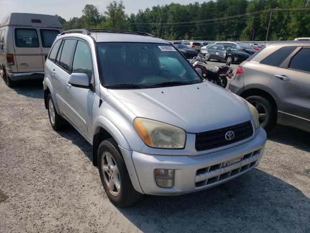 Salvage cars for sale from Copart Fredericksburg, VA: 2002 Toyota Rav4