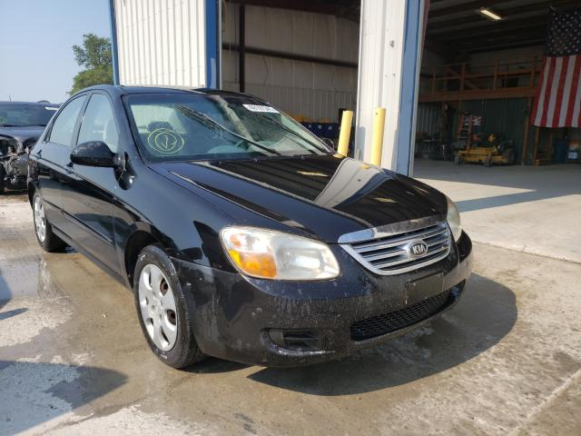 Salvage cars for sale from Copart Sikeston, MO: 2008 KIA Spectra EX