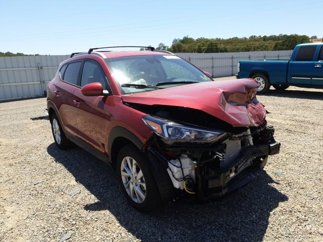 Salvage cars for sale from Copart Anderson, CA: 2021 Hyundai Tucson Limited