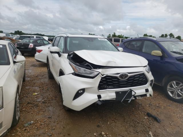 Salvage cars for sale from Copart Bridgeton, MO: 2020 Toyota Highlander