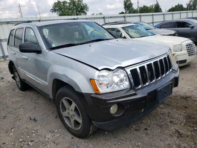 Salvage cars for sale from Copart Lansing, MI: 2006 Jeep Grand Cherokee