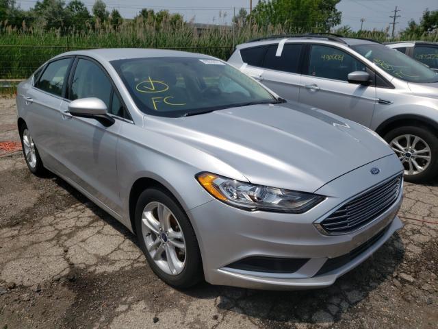Vehiculos salvage en venta de Copart Woodhaven, MI: 2018 Ford Fusion SE