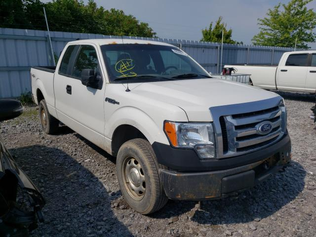 Salvage cars for sale from Copart Ontario Auction, ON: 2012 Ford F150 Super