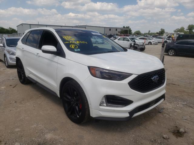 Ford Edge salvage cars for sale: 2020 Ford Edge