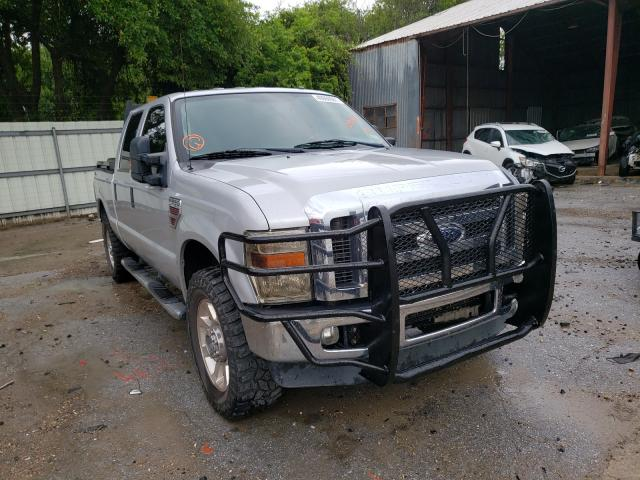 Salvage cars for sale from Copart Corpus Christi, TX: 2008 Ford F250 Super