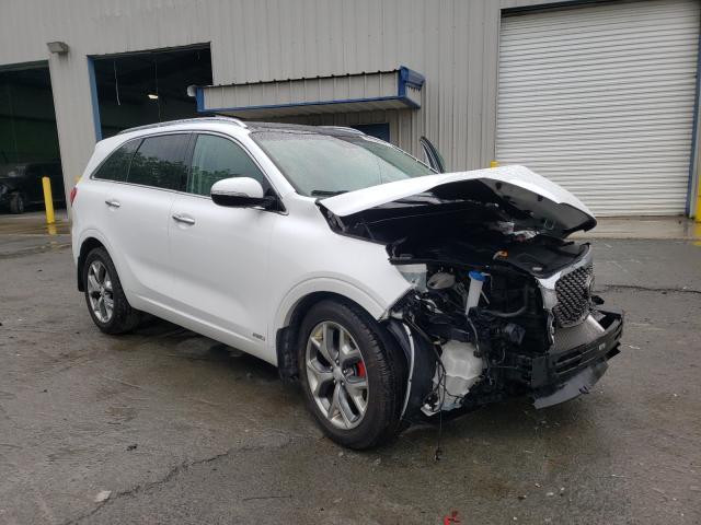 KIA Sorento SX salvage cars for sale: 2016 KIA Sorento SX
