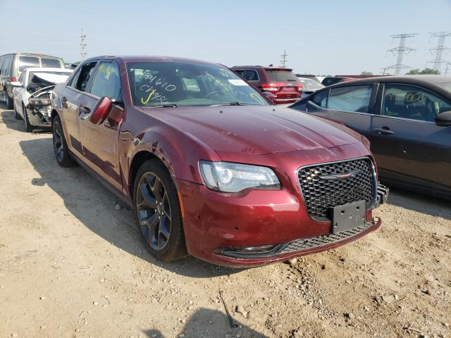 Salvage cars for sale from Copart Elgin, IL: 2021 Chrysler 300 S