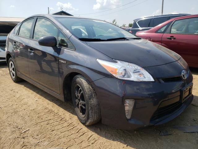 Vehiculos salvage en venta de Copart Pekin, IL: 2013 Toyota Prius